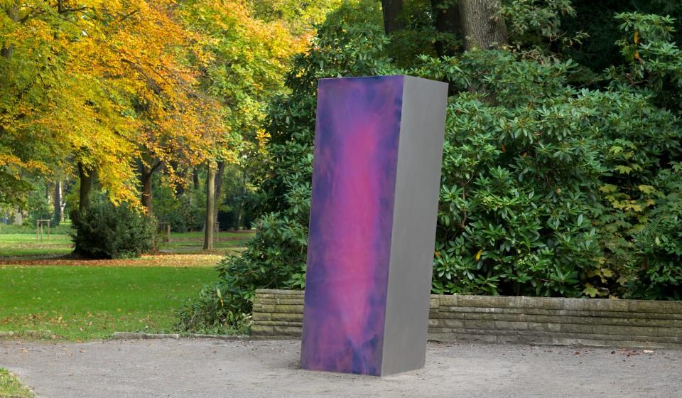 Skulptur Hazy Bird für Jan Scharrelmann
